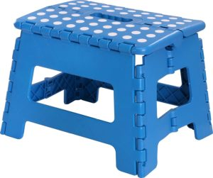 9. Utopia Home Foldable Step Stool for Kids