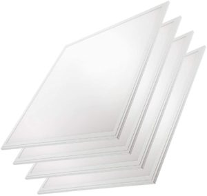 Quest LED 2x2 Panel Troffer Edge-Lit Flat (4 Pack)