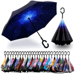 #1 Spar Saa Double Layer Inverted Umbrella Anti-UV