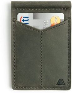 1. Andar Mens Leather Money Clip –The Baron