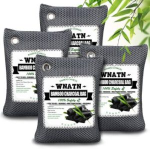 #1. Bamboo Charcoal Bags, Air Purifying, Upgraded