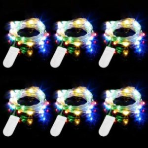 #1. Engilen Fairy Lights 20 LED String Lights
