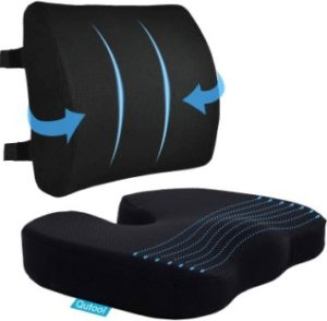 #10 Coccyx Seat Cushion & Lumbar Support Pillow