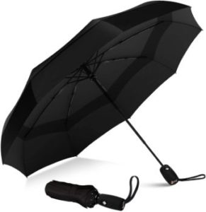 #10 Repel Umbrella Windproof Double Vented Travel Umbrella