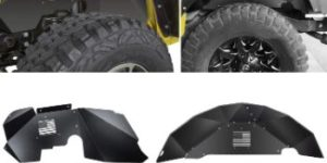 #10. E-cowlboy Inner Fender Liners Front and Rear Lightweight Aluminum