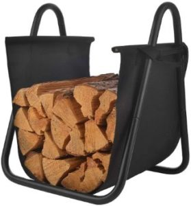 #10. Patio Watcher Firewood Holder Wood Storage Rack