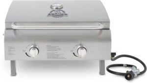 #10. Pit Boss Grills 7527 Stainless Steel Portable Grill