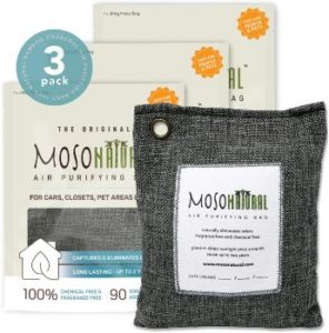 #2. MOSO NATURAL Original Unscented Air Purifying Bag