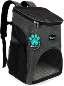 #2. PetAmi Pet Carrier Backpack