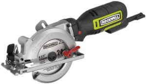 #2. Rockwell RK3441K Mini Circular Saw
