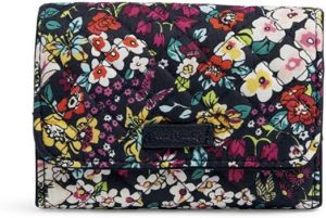 2. Vera Bradley Women's Signature Cotton Riley Compact Wallet