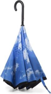 #3 The totes InBrella Reverse Close Umbrella