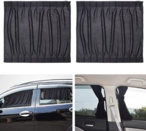 #3 WINOMO 2pcs Side Window Car Sunshades Car Curtains
