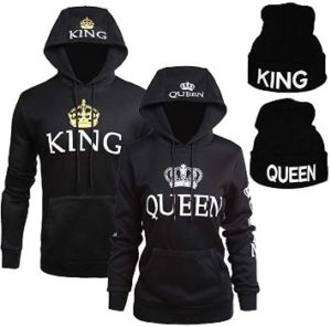 #3 YJQ King Queen Hoodies and King Queen