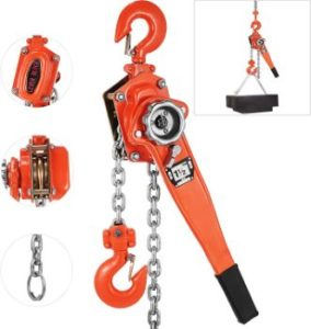 3. Happybuy Lever Block Chain Hoist