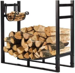 #3. VIVOHOME 3ft Indoor Outdoor Heavy Duty Firewood