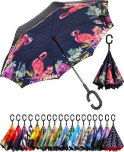 #4 BAGAIL Inverted Umbrella Umbrellas Windproof UV