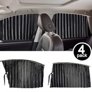 #4 Homesprit 4 Pack Car Side Window Sun Shade Curtain