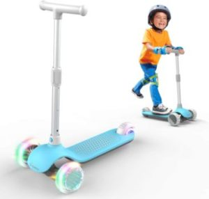 #4 MiniBoss 3 Wheels Scooter for Kids, Detachable Toddler Scooter