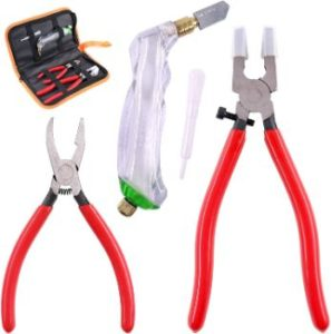 #4 Swpeet 3Pcs Glass Running Pliers