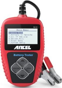 #4. ANCEL BA101 Professional Car Battery Tester