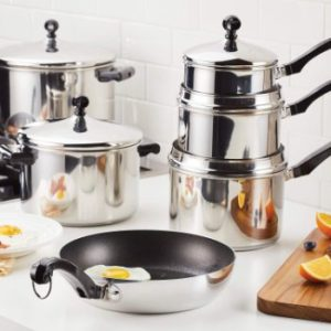 #4. Farberware Classic Stainless Steel Stock Pot