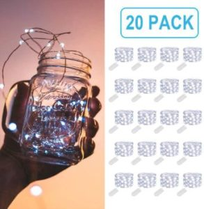 #4. MUMUXI Fairy Lights 20 Pack Battery Operated