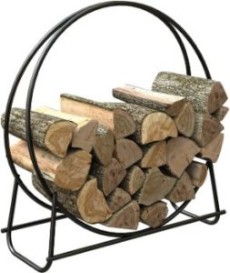 #4. Panacea 15209 Log Hoop, 40-Inch Tubular Steel…