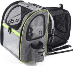 #4. Pecute Pet Carrier Backpack