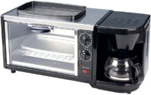 #4. SPT BM-1118 3-in-1 Breakfast Maker, Stainless Steel