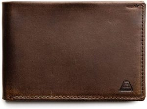 5. Andar Leather Slim Bifold Wallet With RFID Block