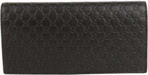 5. Gucci Men's Microguccissima Brown Leather Wallet