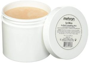 #5. Mehron Makeup Synwax Synthetic modeling Wax