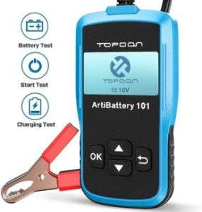 #5. TT TOPDON Car Battery Load Tester