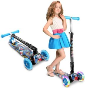 #6 Caroma 3 Wheel Kick Scooter for Kids Adjustable Height