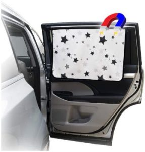 #6 ggomaARTa Car Side Window Sun Curtain