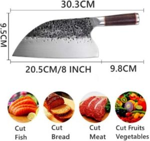 #6. Smith Chu Handmade Forged Kitchen Chef Knife