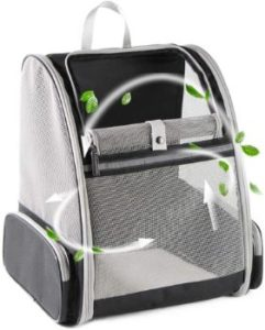 #6. Texsens Pet Backpack Carrier