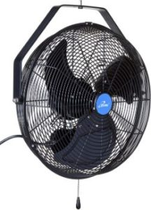 6. iLIVING ILG8E18-15 Wall Mount Outdoor Fan