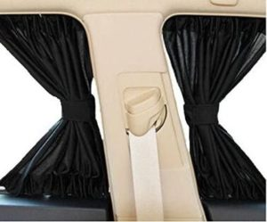 #7 Feiteplus 2 x Car Side Window Curtain Sun Window