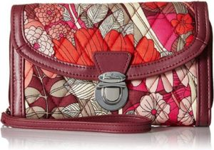 7. Vera Bradley Signature Cotton Ultimate Wristlet