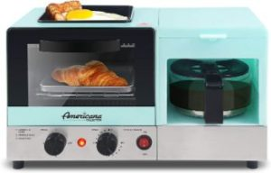 #7.Elite Gourmet Maxi-Matic 3-in-1 Americana Breakfast Center Station