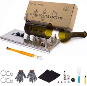 #8 Glass Bottle Cutter, Upgraded Bottle Cutting Tool Kit