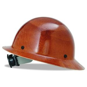 #8 MSA 475407 Natural Tan Hat with Suspension