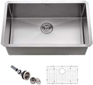 #8. APPASO Single Bowl 28-Inch Kitchen Sink