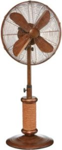 8. DecoBREEZE Adjustable Height Oscillating Outdoor Pedestal Fan