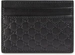 8. Gucci Microguccissima Leather Card Case Wallet