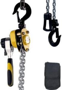 8. Treedeng Mini Chain Block Hoist