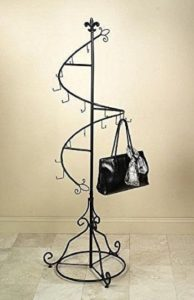 #8.Tripar Display Purse Tree, Jewelry Organizer
