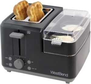 #8.West Bend 78500 Breakfast Station 2-Slice Wide Slot Toaster